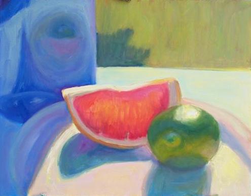 aaron-souza-pink-grapefruit-and-lime-16%22-x-12%22
