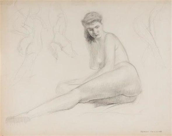 Henry Hensche Figure Drawing